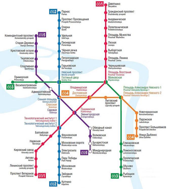 Всего в петербургском метро
