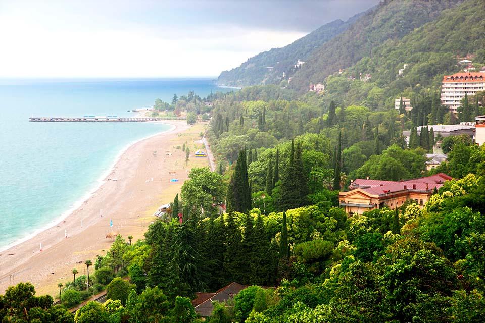 лучшие отели абхазии на берегу моря